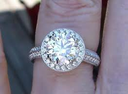 Halo Wedding Rings by Halo Engagement Rings Pricescope