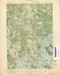 Maine County Map Maine Historical Topographic Maps Perry Castañeda Map Collection