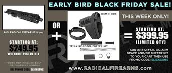 black friday gun sales radical firearms early black friday sale extended until tuesday