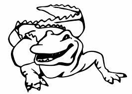 alligator coloring pages book uniquecoloringpages clip art