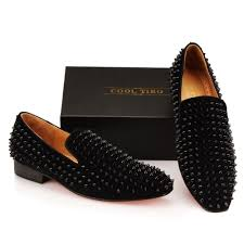cool tiro loafers top quality red bottom men shoes fashion black