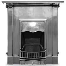 Fireplace Stuff - large royal full polish cast iron fireplace insert rx129a full