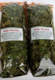 cuisiner la chayotte brede chouchou feuilles de christophine séchées chayotte