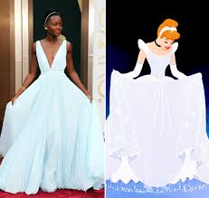 celebrities channeling disney princesses red carpet photos