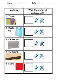 waterproof experiment by ruthbentham teaching resources tes