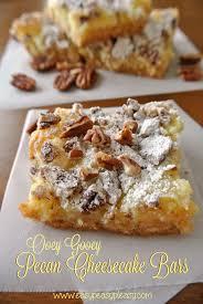 Ooey Gooey Pecan Cheesecake Bars Easy Peasy Pleasy