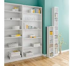 buy home maine 5 shelf tall wide bookcase white at argos co uk