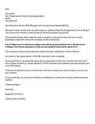 fundraising letter to businesses mytemplate co