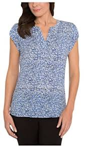 printed blouse hilary radley printed blouse at amazon s clothing store