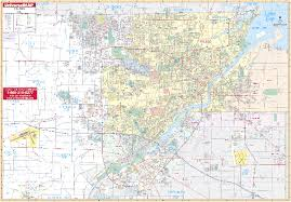 toledo ohio map ohio wall maps national geographic maps map quest rand mcnally