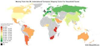 Household Goods Move Estimate by 2017 Overseas Cargo Freight Costs From The Uk Moverdb Com