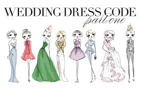 wedding dress code white tie black tie formal no worries wedding dress code