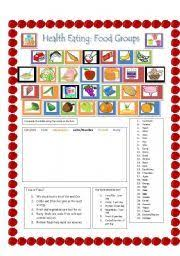 english worksheets food groups wordsearch educational