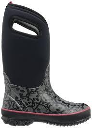 womens bogs boots sale amazon com bogs skulls winter boot 9 m us