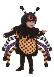 Scary Boy Costumes Halloween Toddler Polka Dot Spider Costume Halloween Costumes