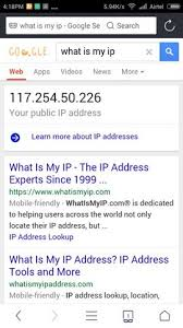 what is my up find out your computer and android phone ip address