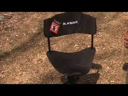 Chair Blind Reviews Redhead Blackout Ground Blind Chair Review Youtube
