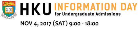hku information day for undergraduate admissions 2017
