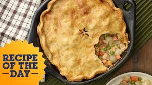 Food Network The Kitchen Recipe Recipe Of The Day Sunny U0027s Easy Chicken Pot Pie Food Network