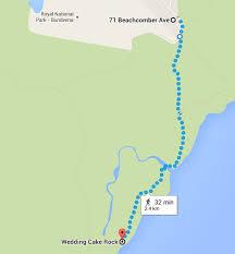 wedding cake rock sydney bundeena and royal national park coastal walk sydney