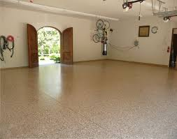 island garage flooring ideas gallery the organized garage