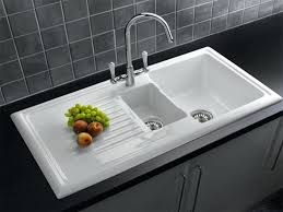 Undermount Porcelain Kitchen Sinks by Songwriting Co U2013 Awesome Kitchen Design Ideas