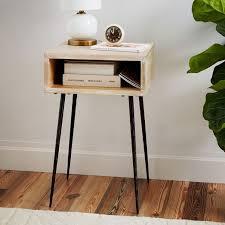West Elm Bedside Table Letterbox Nightstand West Elm Bedroom Pinterest