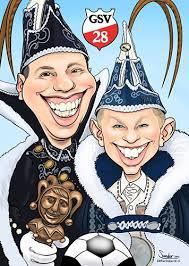 carnaval prins karikatuur jeugdprins en prins carnaval de karikaturist