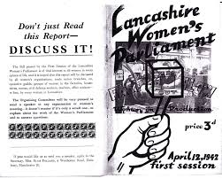 Black And Red Flag Country The Lancashire Women U0027s Parliament April 1942 Red Flag Walks