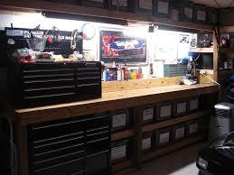 how to make garage workbench modern table design image of garage workbench design