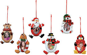 characters photo frame tree ornaments