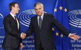 parlement europ n si e scandales c était une erreur zuckerberg fait