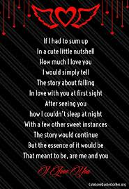i miss you love poems for her cute love quotes for her