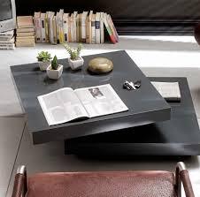Wohnzimmertisch Platte Couchtisch Wohnzimmertisch Tisch Beistelltisch Halo Grau Hochglanz