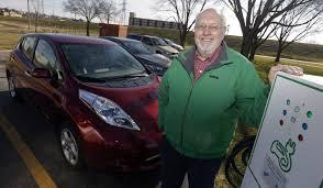 electric cars gaining ground in iowa the gazette