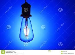 blue free light bulbs new led light bulb over blue background stock photo image of glass