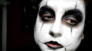 serie el cuervo the crow makeup tutorial