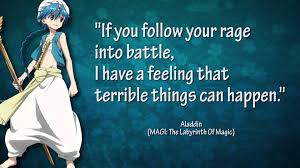 magi the labyrinth of magic quotes requested by mage craz