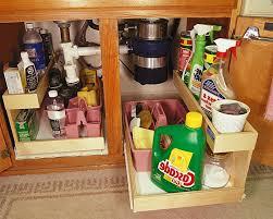 Under Kitchen Sink Storage Ideas Under Kitchen Sink Pull Out Storage Stainless Steel Door Cabinet