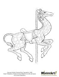 carousel coloring pages print and color this image from