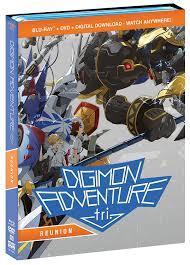 digimon adventure amazon com digimon adventure tri reunion bluray dvd combo