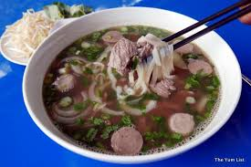cuisine pho saigon pho cafe restaurant ttdi the yum list