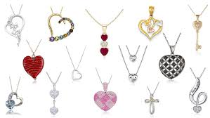 s day jewelry for top 20 best heart necklaces heavy