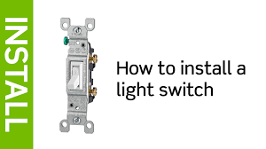how to wire switches throughout installing a light switch wiring