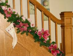 28 best christmas banisters images on pinterest stairs