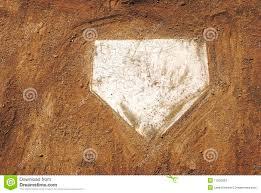 home plate on baseball field stock photos image 11206283