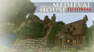 small medieval house tutorial youtube