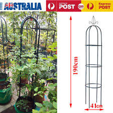 Climbing Plant Supports - kingfisher wgo 1 9m garden obelisk climbing plant frame arch