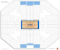 exactech arena o u0027connell center florida seating guide