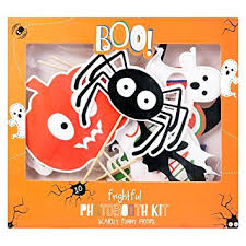 Halloween Photo Booth Props Halloween Party Photo Props Set Selfie Photobooth Amazon Co Uk